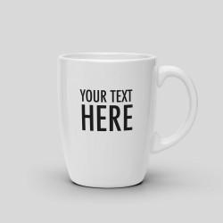 Customizable mug - White Ceramic Mug. 325ml -. 16,82€