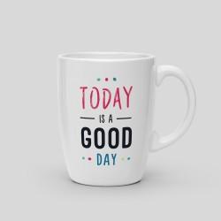 Mug Today is a good day - White Ceramic Mug. 325ml -. 14,40€